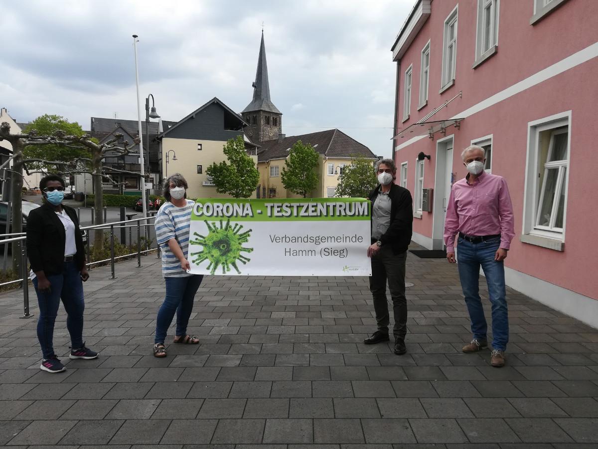 VG Hamm: Schnelltests jetzt als Drive-In und in den Dörfern