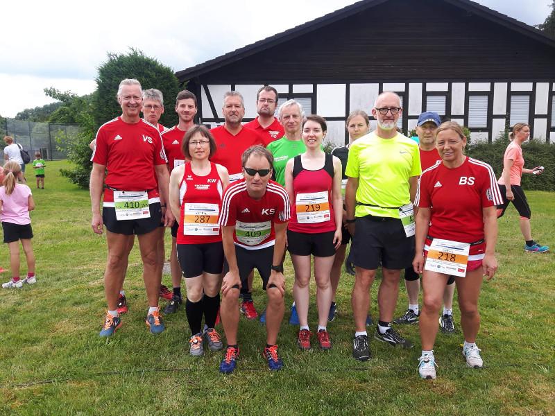 Lauftreff aus Hamm war beim Windecker Sommerlauf dabei
