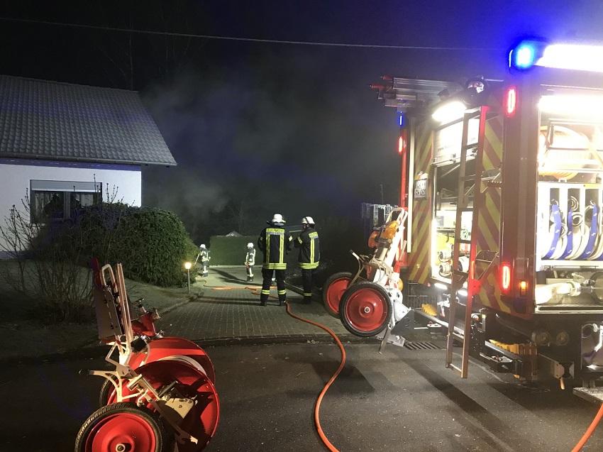 Feuerwehr Hamm an Silvester und Neujahrstag im Einsatz