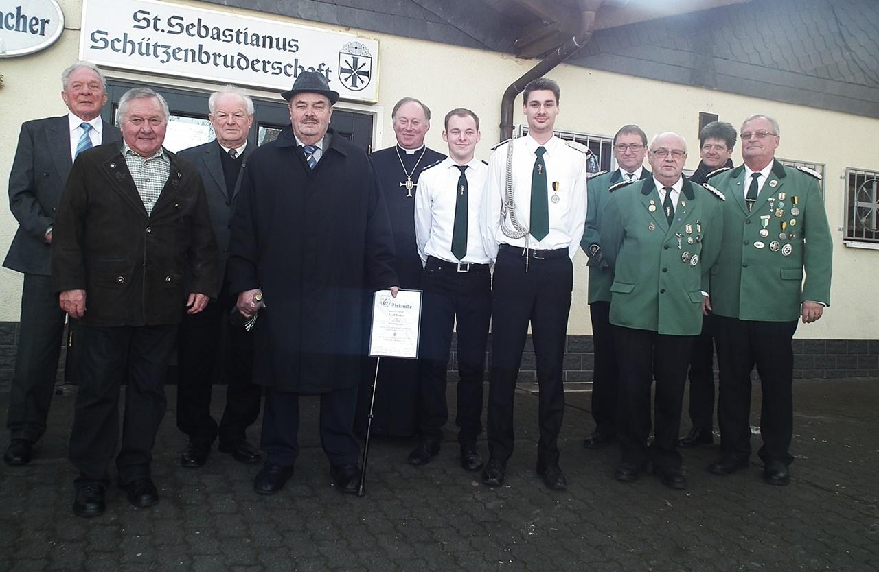 St. Sebastianus Sch�tzenbruderschaft blickte auf 2016 zur�ck