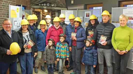 Rund 100 Freunde von Natur und Gesundheit kamen beim Tag der offenen Tür im Heilstollen der Grube Bindweide voll und ganz auf ihre Kosten. (Foto: Joachim Weger)