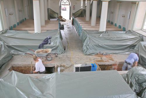Evangelische Kirche in Selters hat eine flüsterleise Heizung