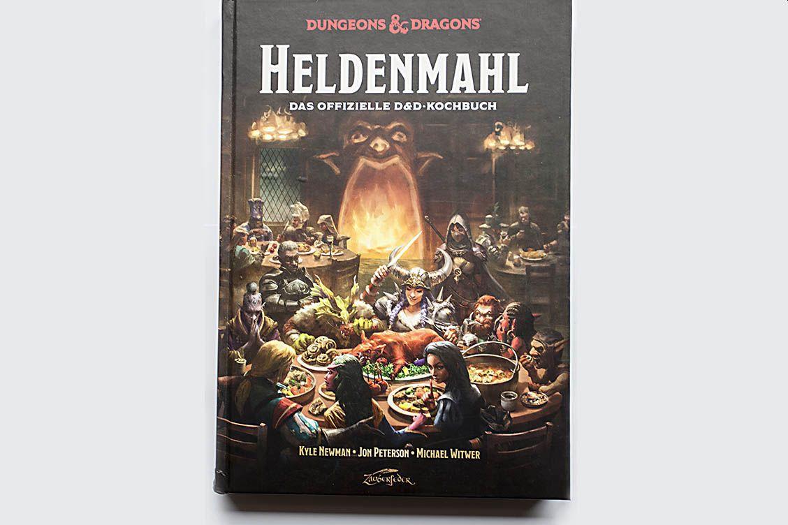 """Buchtipp: """"Heldenmahl. Das offizielle D&D-Kochbuch"""" von Newman, Peterson & Witwer"""