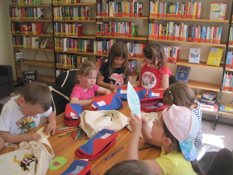 Bibliotheksführerschein für Kindergartenkinder