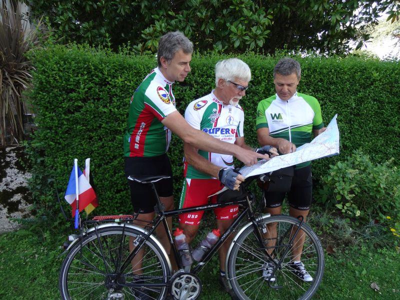 Den Profis bei der Tour de France begegnet