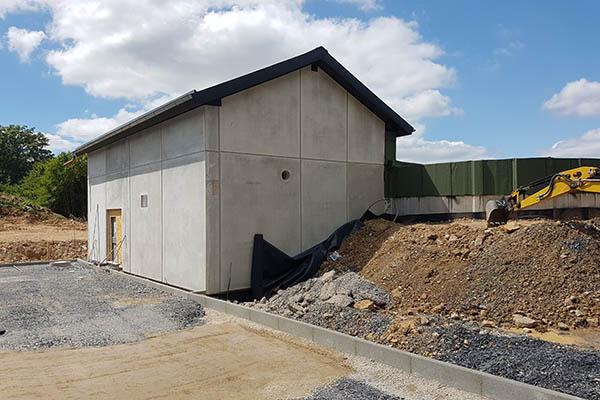 Rohbauarbeiten am neuen Hochbehälter Hachenburg abgeschlossen