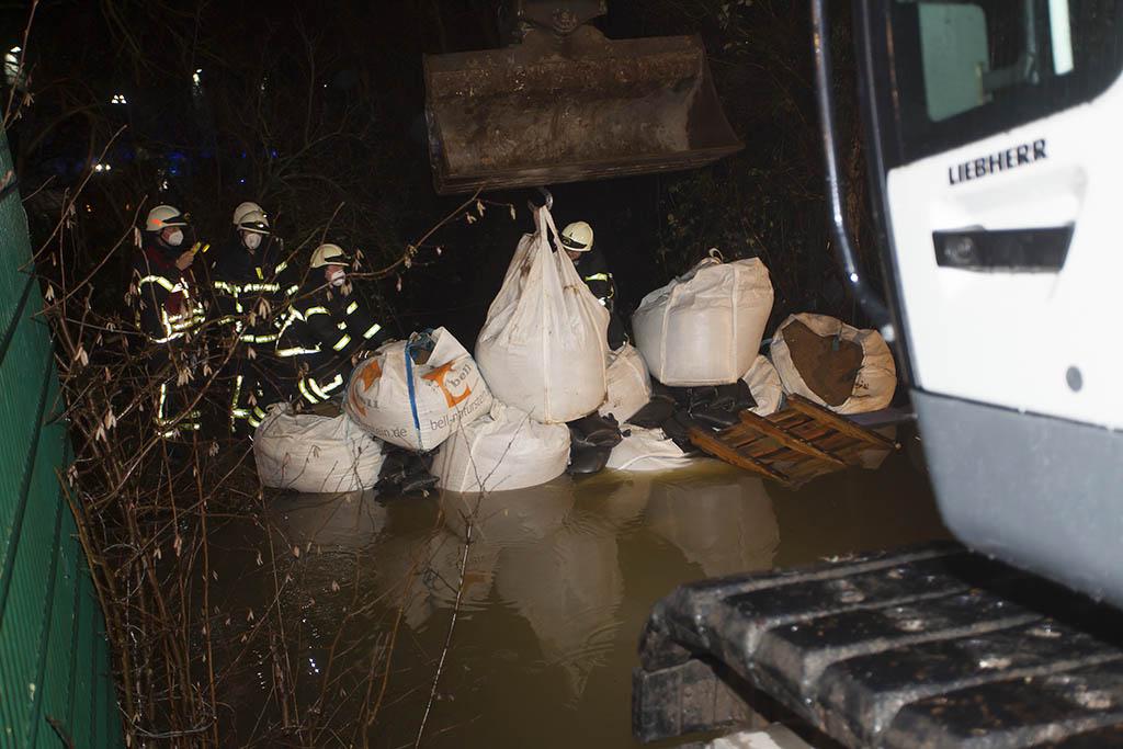 Erneuter Hochwassereinsatz für Feuerwehren VG Puderbach und Dierdorf