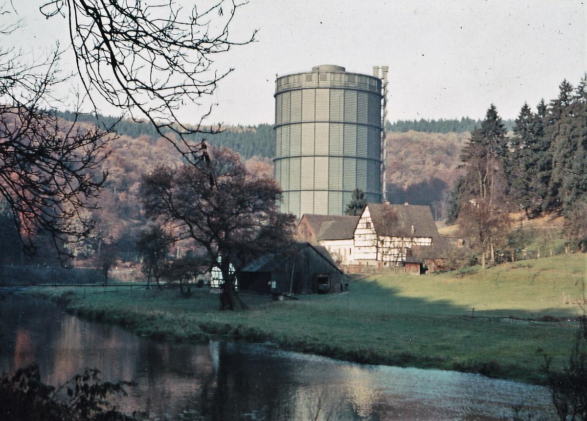 """Vor 50 Jahren: Das """"Gasometer"""" fällt"""