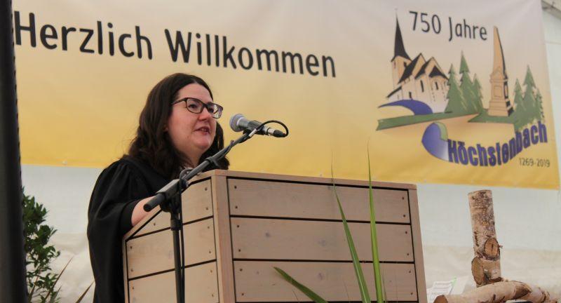 Evangelischer Festgottesdienst zur 750 Jahr Feier Höchstenbachs