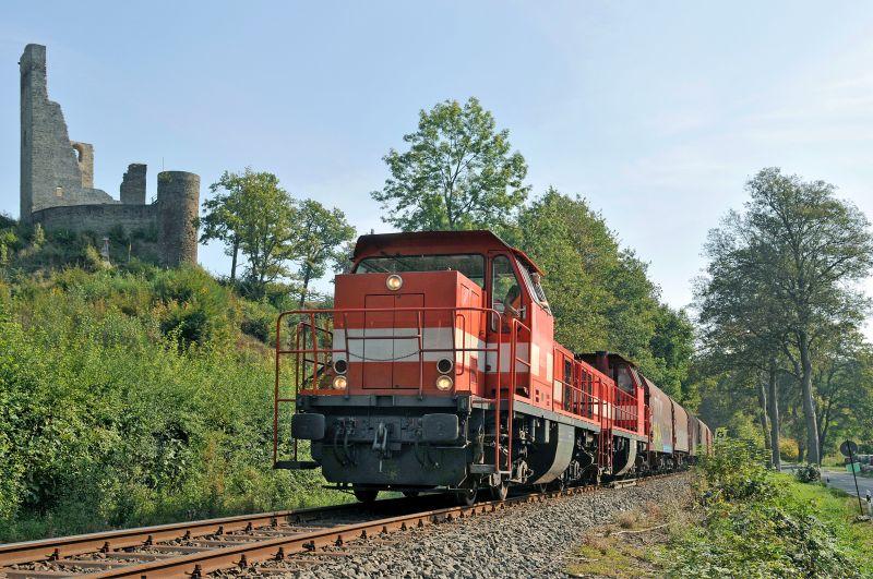 Westerwaldbahn bei Reichenstein. (Foto: Archiv privat)
