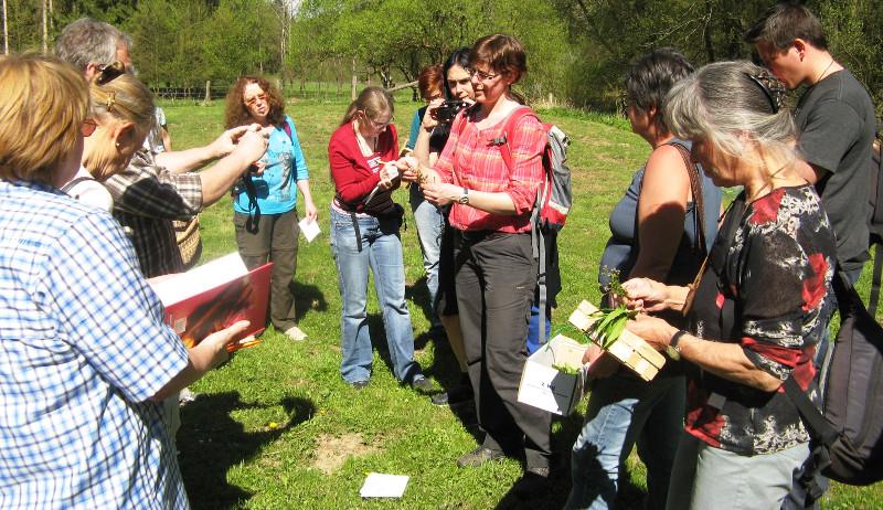 Exkursion in Horhausen: Kr�uterkunde im Mittelalter