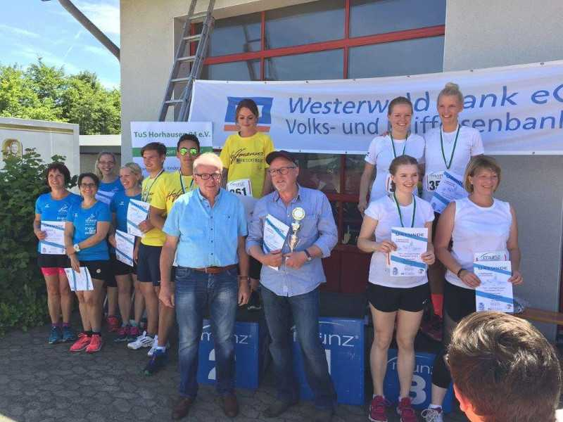 TuS Horrhausen organisierte Dritten Raiffeisenlauf