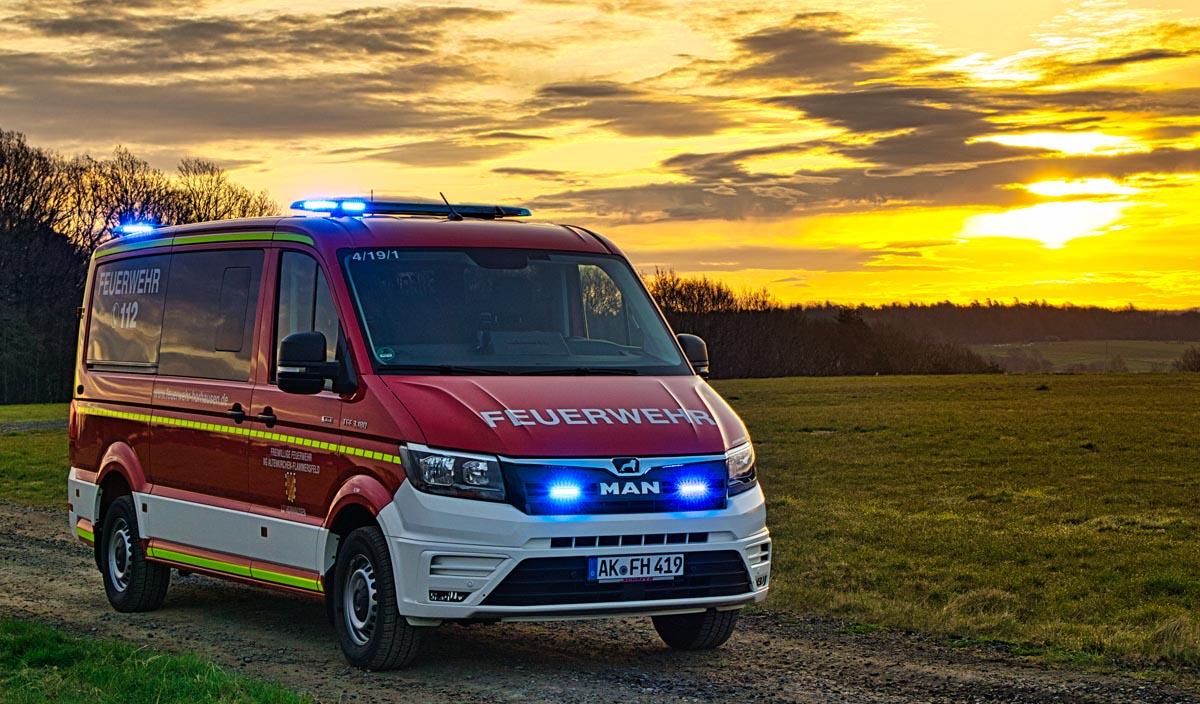 Neues Mannschaftstransportfahrzeug für die Feuerwehr Horhausen
