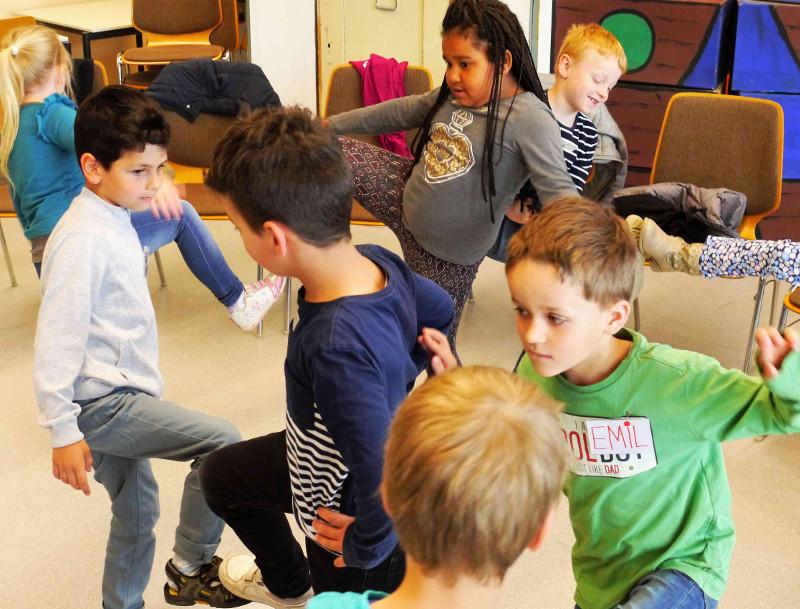 """Projekt zur Gewaltprävention: Kinder sagen """"Stopp!"""""""