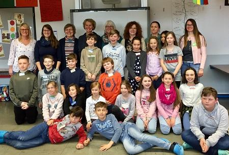 �Hospiz macht Schule� in der Grundschule Weyerbusch