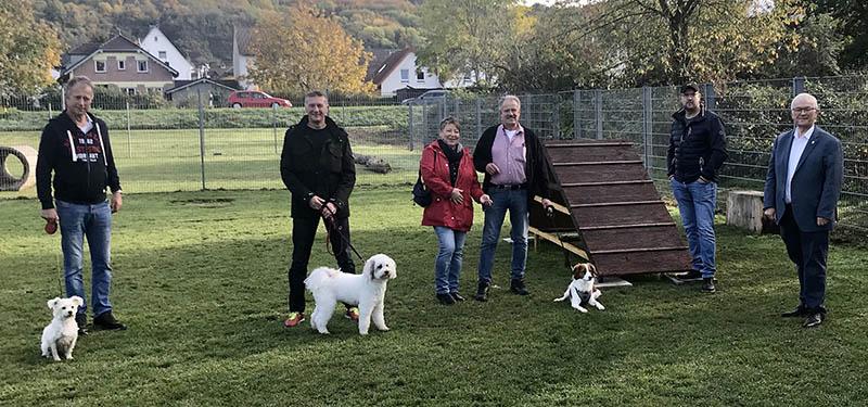 Hundeauslaufplatz der Stadt Unkel eingeweiht
