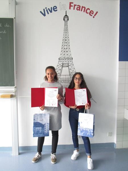 IGS-Sch�lerinnen nahmen an Franz�sischwettbewerb teil