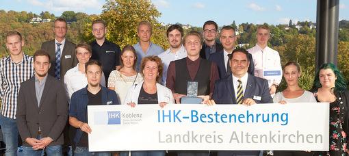 IHK-Besten-Ehrung: 20 Top-Azubis aus dem Kreis Altenkirchen