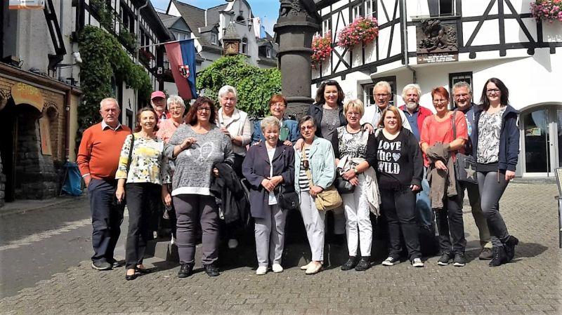 Gemischter Chor Steimel beim Weinfest in Winningen