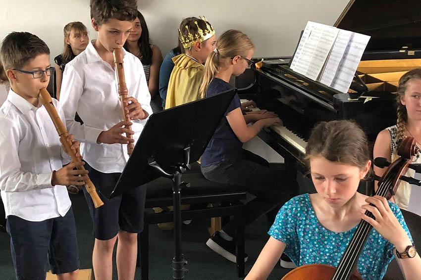 Bühne frei für Nachwuchs in Musikschule der Stadt Neuwied
