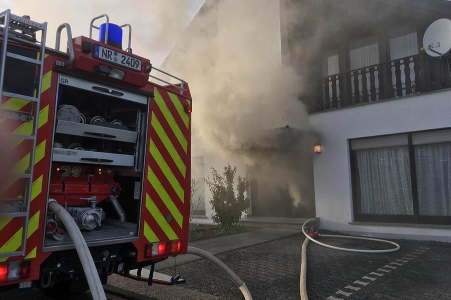 Mehrfamilienhaus nach Brand derzeit nicht bewohnbar