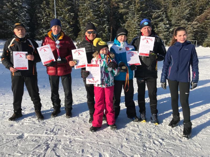 SRC Skilangläufer deutschlandweit erfolgreich bei Wettbewerben