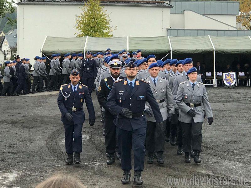 Öffentliches Gelöbnis in Bad Marienberg