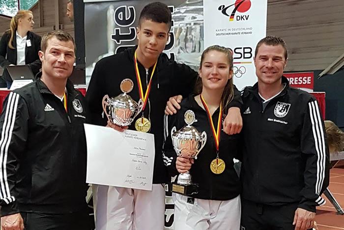 Sensationelle Erfolge bei der Deutschen Meisterschaft in Erfurt