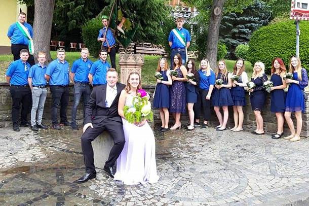 Segendorfer feierten Brunnenfest
