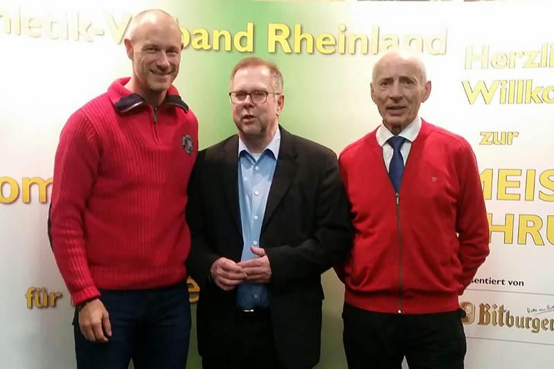 Leichtathletik-Verband Rheinland ehrt seine Meister