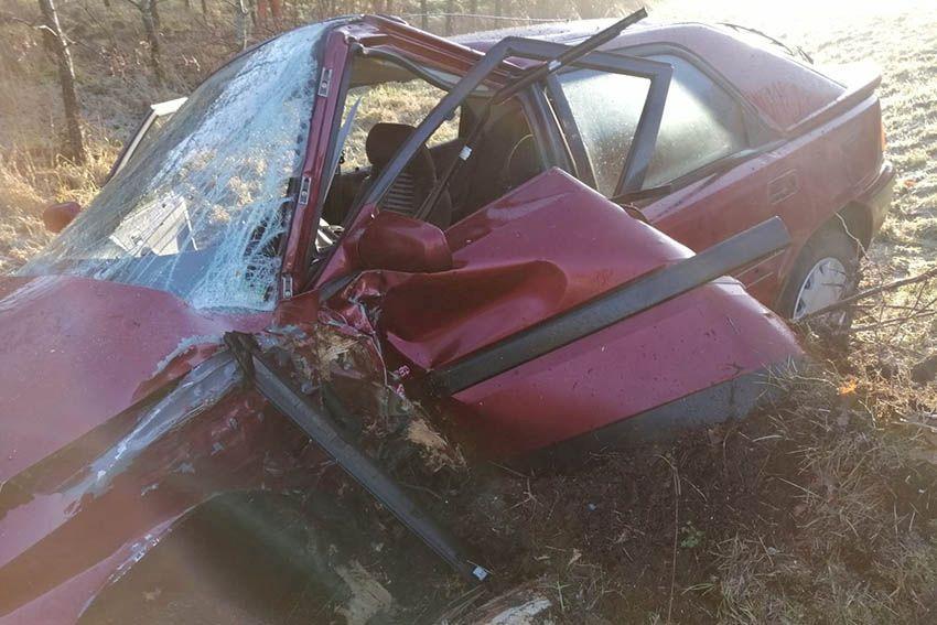 Verkehrsunfall mit schwer verletzter junger Fahrerin