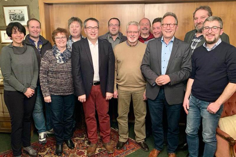 CDU Gemeindeverband Dierdorf wählt neuen Vorstand