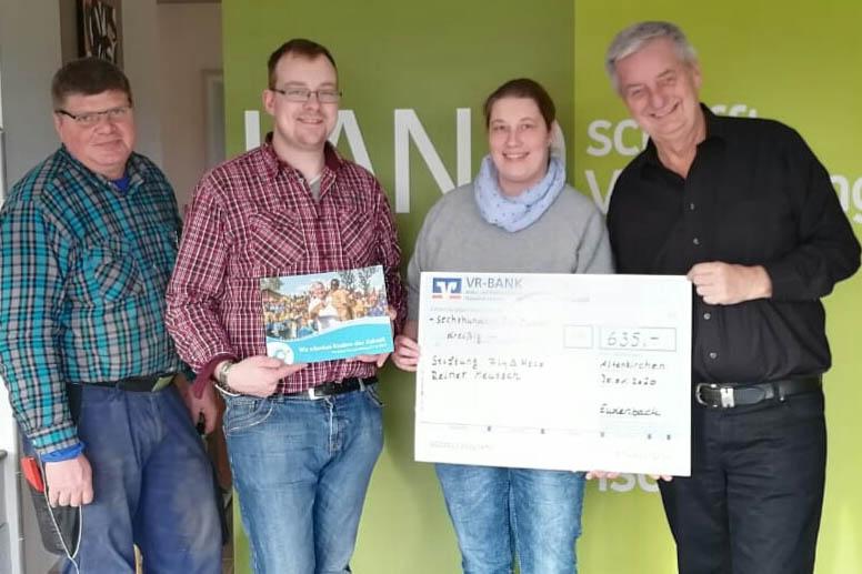 Land schafft Verbindung – Team Westerwald spendet