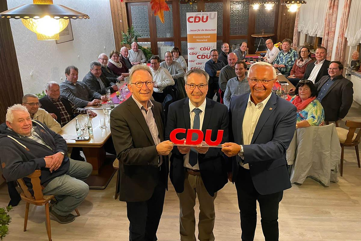 Hans-Dieter Spohr kandidiert als Bürgermeister für die VG Dierdorf