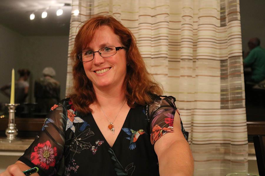 Ulrike Puderbach las in Rengsdorf. Fotos: pr