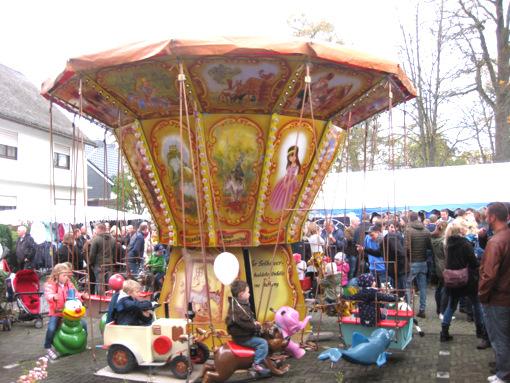 Herbstmarkt in Gebhardshain: Da wird auch viel für die Kinder geboten. (Archiv-Foto: Veranstalter)