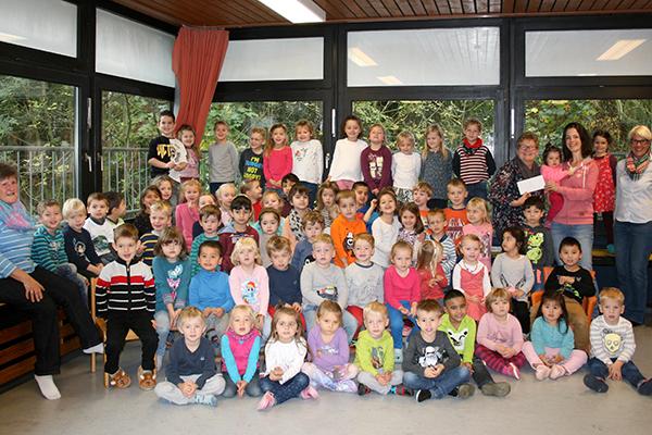 KFD Linz spendet an Förderverein der Kita St. Marien Linz