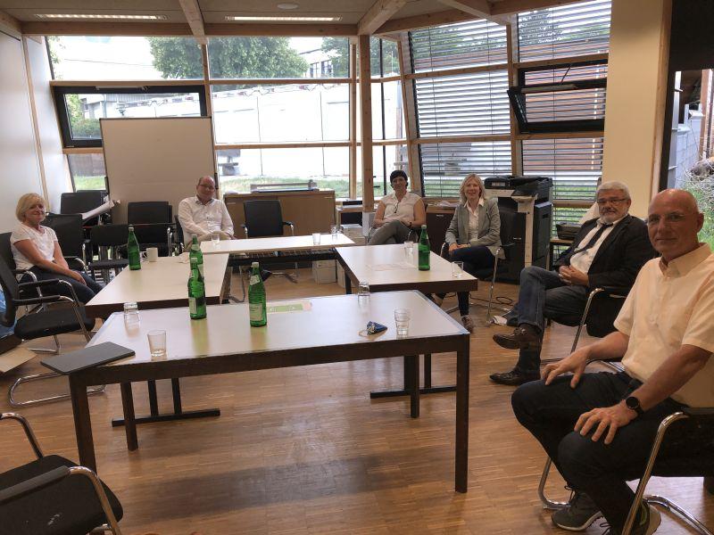 Politikerbesuch in der Katharina-Kasper-Schule in Wirges. Foto: privat