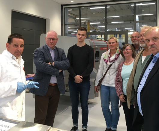 SPD besuchte Treif Maschinenbau GmbH in Oberlahr