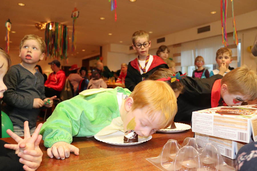Kinderkarneval in Wahlrod kam hervorragend an