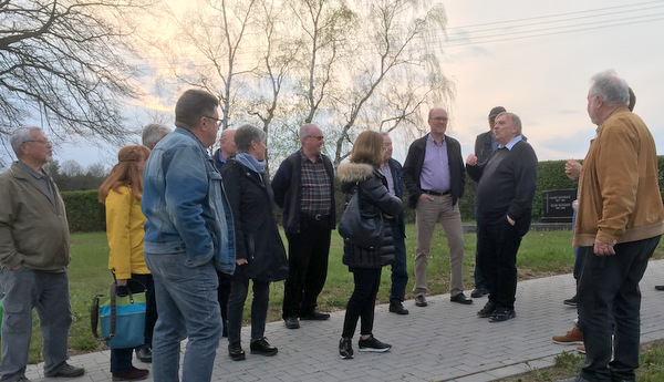 Besuch in Neitersen: SPD-Fraktion informierte sich