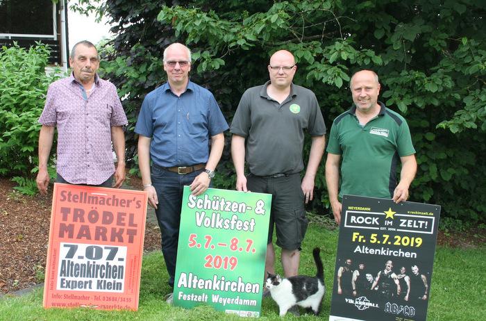 Am ersten Juli-Wochenende ist es soweit: Schützenfest in Altenkirchen