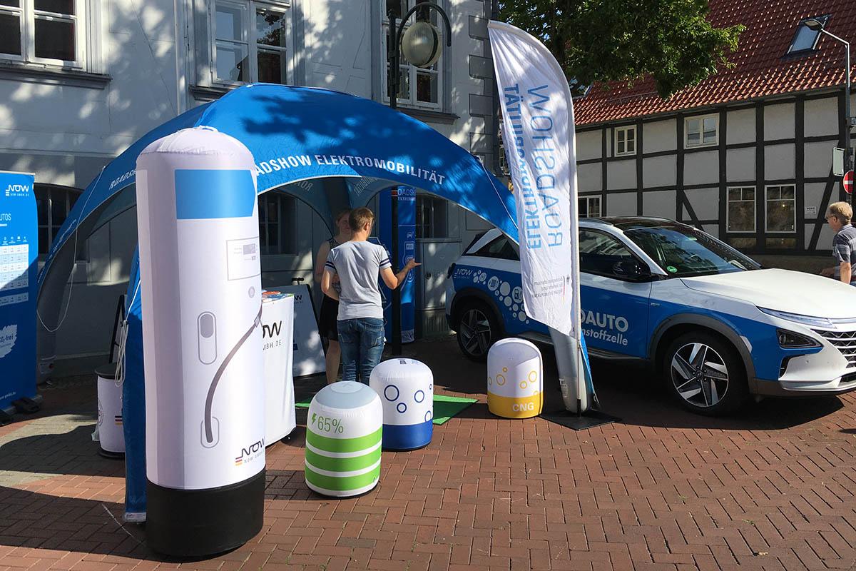 Roadshow Elektromobilität: CO2-freie Mobilität wird präsentiert