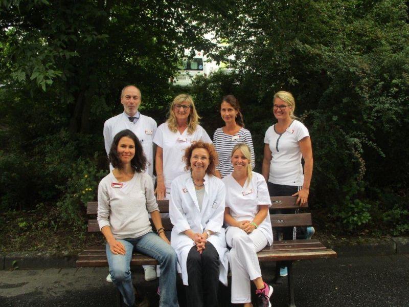 Das Schmerzbehandlungs-Team. Foto: privat