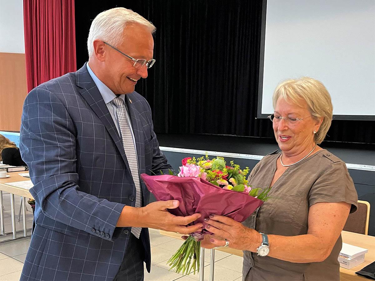 Neue Patientenfürsprecherin Ursula Martain