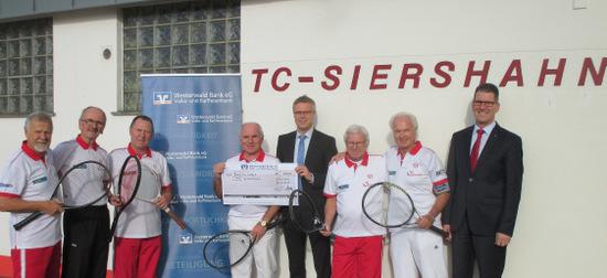 Westerwald Bank unterstützt TC Siershahn