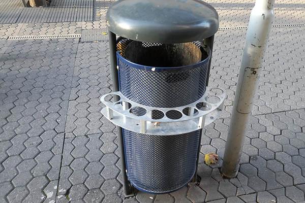 Pfandringe – das unbekannte Ding in der Fußgängerzone