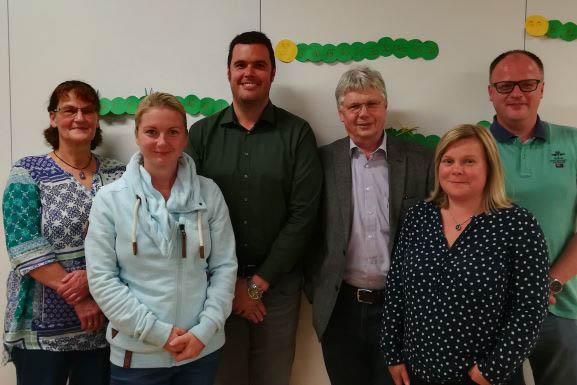 Neuer Vorstand des Fördervereins Marienschule
