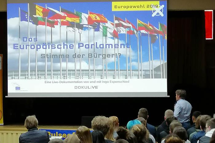200 Schüler erleben Europa live
