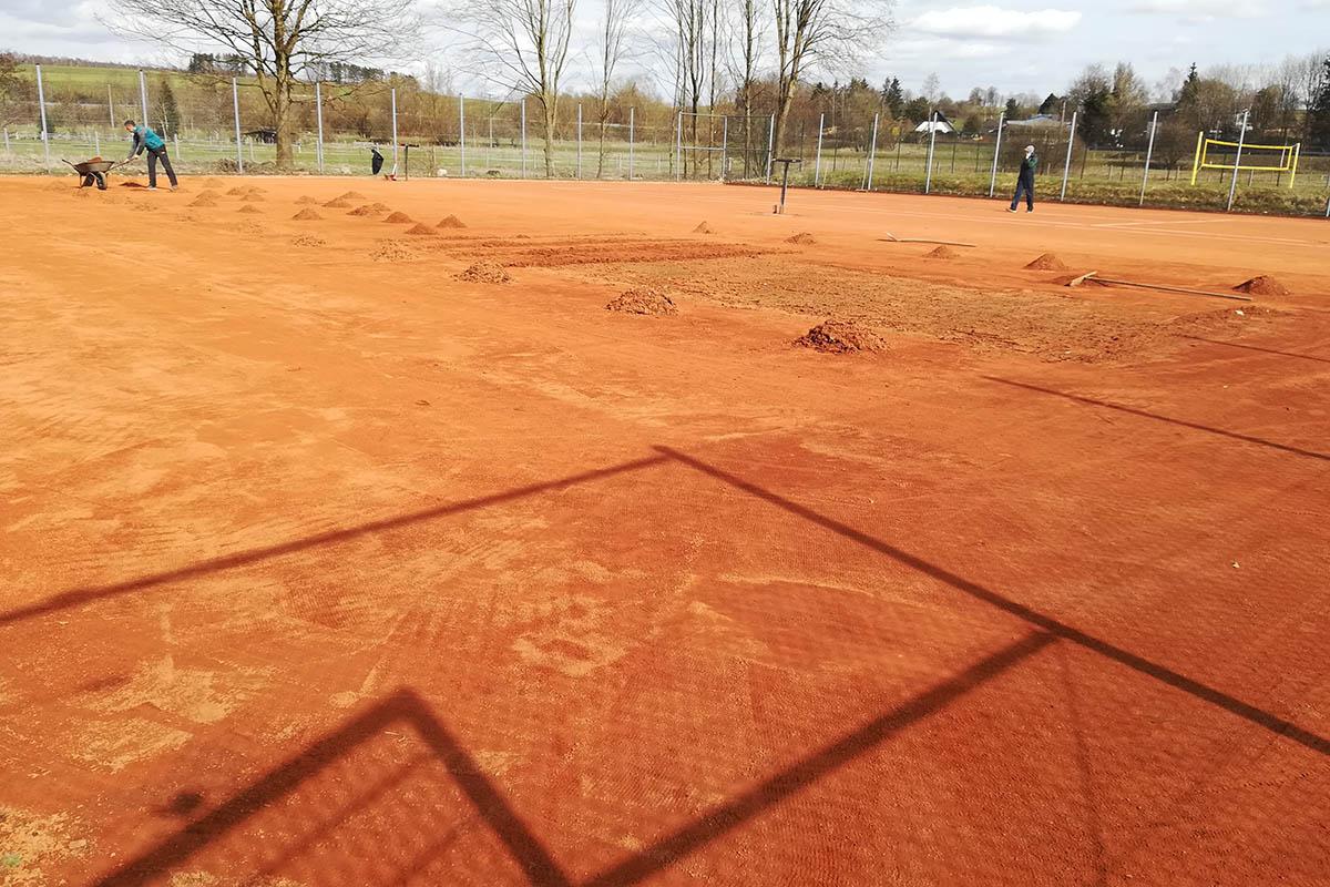 Tennisclub Dierdorf - Plätze sind bespielbar